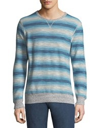 Faherty Reversible Crewneck Sweatshirt Gray