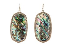 Kendra Scott Danielle Earrings Abalone Shell Earring Multi
