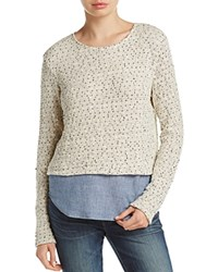 Generation Love Layered Look Sweater Natural
