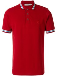Pringle Of Scotland Classic Polo Shirt Red