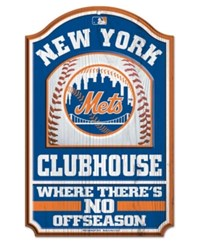 Wincraft New York Mets Wood Sign