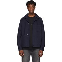 Acne Studios Navy Twill Jacket
