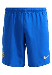 Nike Performance Fc Barcelona Club Wear Sport Royal University Gold Blue