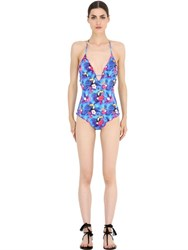 Mc2 Saint Barth Toucan Printed Lycra One Piece Swimsuit