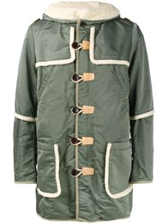Visvim 'Hudson' Military Coat Green