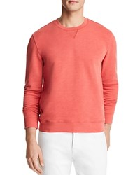 Bloomingdale's The Men's Store At Crewneck Sweatshirt Red Swatch