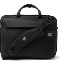 Herschel Supply Co Trail Britannia Tech Nylon Briefcase Black