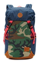 Nixon Trail Backpack Navy Camo