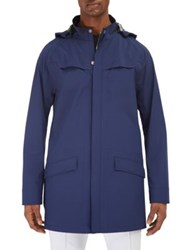 Efm Engineered For Motion Helmsman Waterproof Packable Parka Blue