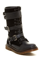 Penny Loves Kenny Dee Keller Alee Lace Up Boot Black