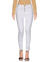 Daniela Dalla Valle Elisa Cavaletti Trousers Casual Trousers White