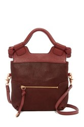 Foley Corinna Disco City Leather Convertible Crossbody Red