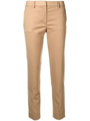 Mauro Grifoni Slim Fit Trousers Nude And Neutrals