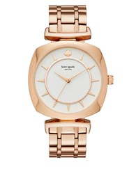 Kate Spade Barrow Stainless Steel Watch Rose Gold