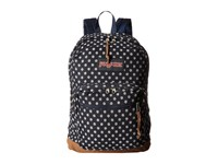 Jansport Right Pack Expressions Navy Twiggy Dot Jacquard Backpack Bags Black