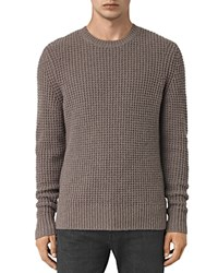 Allsaints Torn Sweater Fawn Brown
