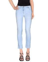 Henry Cotton's Denim Denim Trousers Women Blue