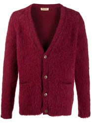 Al Duca D'aosta 1902 Knitted Cardigan Red