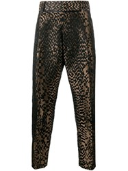 Haider Ackermann Jacquard Trousers Black