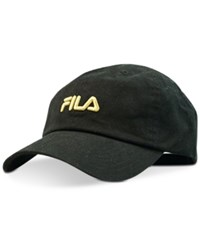 Fila Heritage Cotton Hat Black