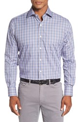 Peter Millar Men's Alan Regular Fit Plaid Sport Shirt