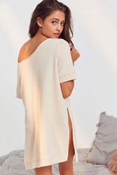 Out From Under Owens Cozy Tunic Top Beige