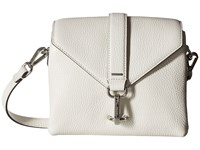 Ecco Isan Small Crossbody White Cross Body Handbags