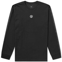 Vans Long Sleeve Circle V Tee Black