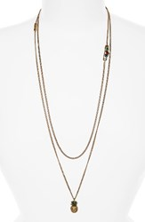 Marc By Marc Jacobs Women's Pineapple Layer Necklace