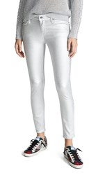 Rta Prince Coated Jeans Sound Silver