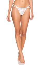 For Love And Lemons Kate Thong White