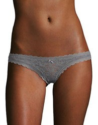 Free People Lace Thong