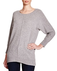 C By Bloomingdale's Dolman Sleeve Cashmere Sweater Light Grey