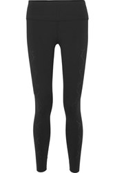 Varley Hughes Perforated Stretch Leggings Black