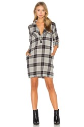 Current Elliott The Lara Shirt Dress Gray