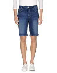 Wesc Denim Bermudas Blue