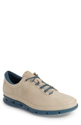 Men's Ecco 'Cool Gore Tex' Sneaker Oyster Petrol Leather