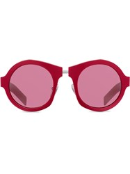 Prada Eyewear Tinted Lens Sunglasses Red