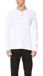 Splendid Mills Long Sleeve Crew Top Off White