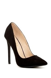 Liliana Pixie Pointed Toe Pump Black