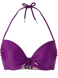 Marlies Dekkers Musubi Push Up Bikini Top Pink Purple