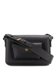 Tom Ford Hollywood Shoulder Bag Black