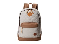 Roxy Far Away Quilted Backpack Heritage Heather Backpack Bags Gray