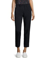 Armani Jeans Solid Cropped Pants