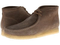 Clarks Wallabee Boot Taupe Distressed Suede Men's Lace Up Boots