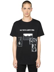Les Artists Youth Always Wins Printed Jersey T Shirt