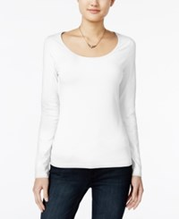 Energie Juniors' Likey Cutout Back Top Winter White