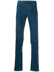 Jacob Cohen Straight Leg Comfort Trousers 60