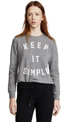 Sol Angeles Keep It Simple Pullover Heather