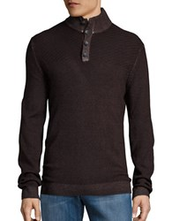 Strellson Virgin Wool Pullover Sweater Dark Brown